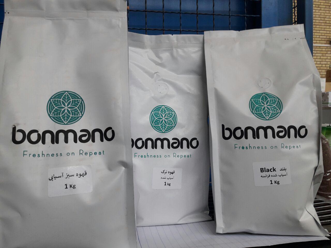 قهوه اسپرسو یک کیلویی بن مانو